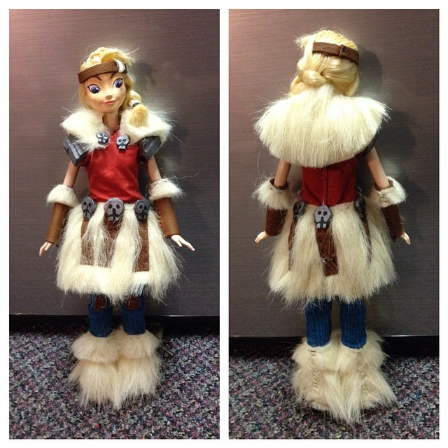 How To Train Your Dragon 2 Astrid Doll By Angelandchangeling On Deviantart