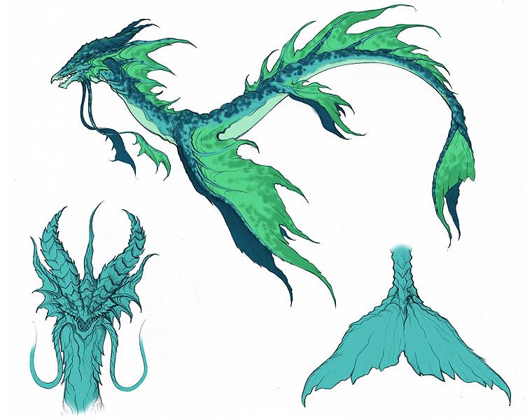 Qualzexcta - Qualzexcta Jaguasa Dermain Sea_serpent_concept_by_yindragon-d4hy1ms