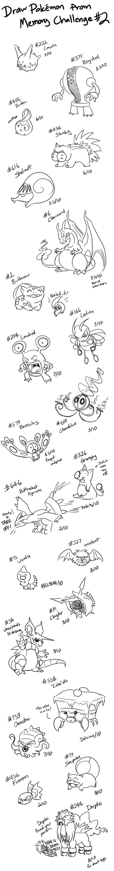 Pokemon Memory Challenge #2 by YinDragon