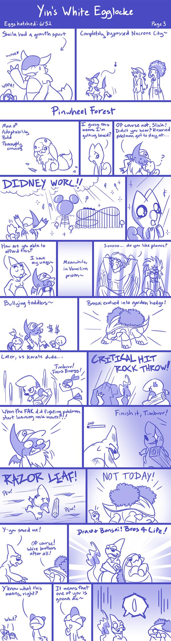 Yin's White Egglocke - Page 3 by YinDragon