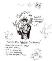 Nuzlocke Pen Sketch Challenge by YinDragon