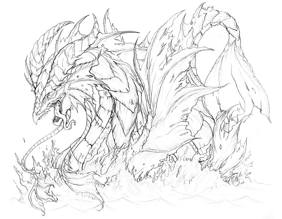 Sea Serpent by YinDragon on DeviantArt