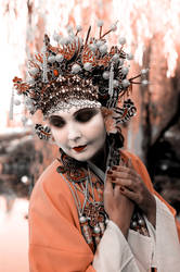 Orient in Orange by Questavia