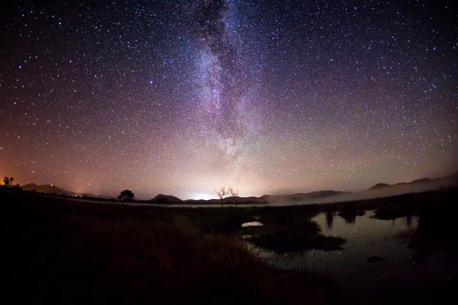 night starscape photography