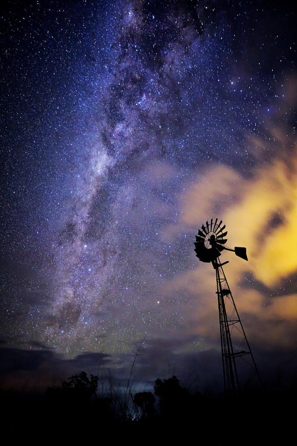 Galactic Windmill by Questavia