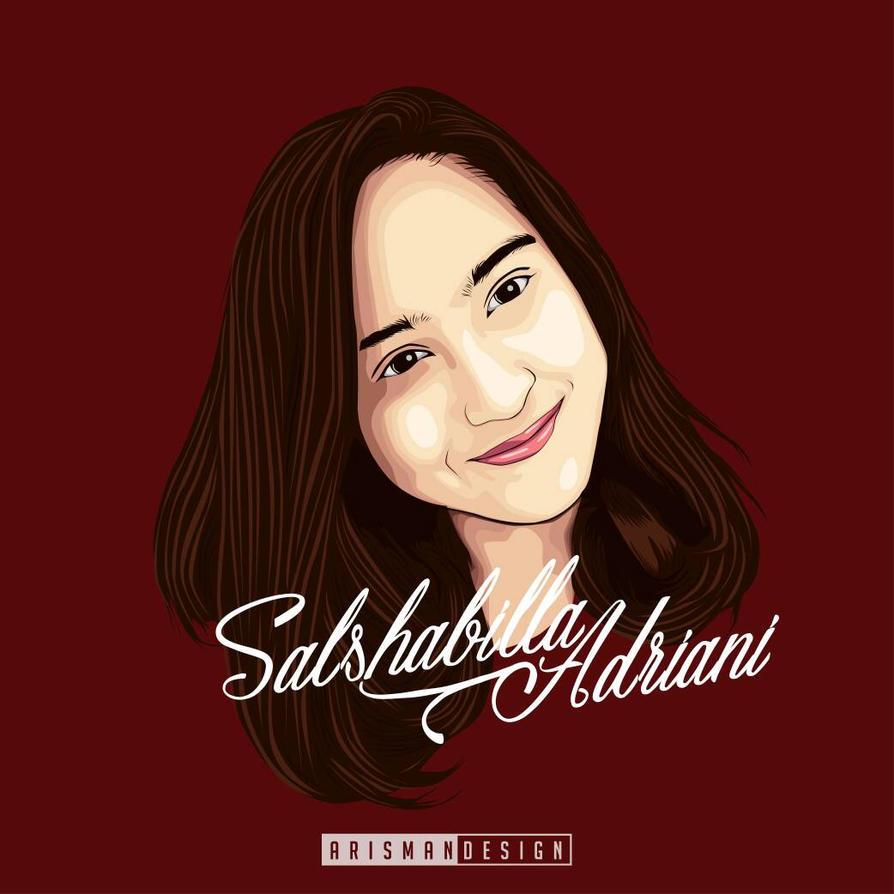 salshabilla Adriani by arismanasco