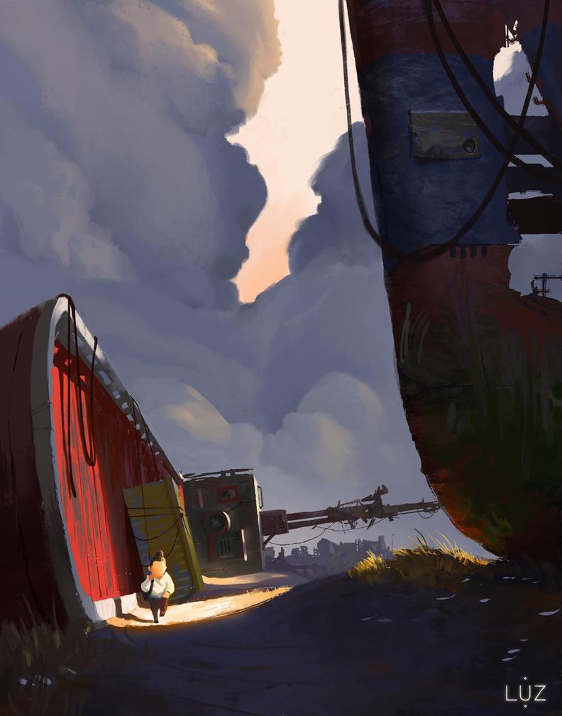 LUZ - Ship Graveyard by samsamstudio