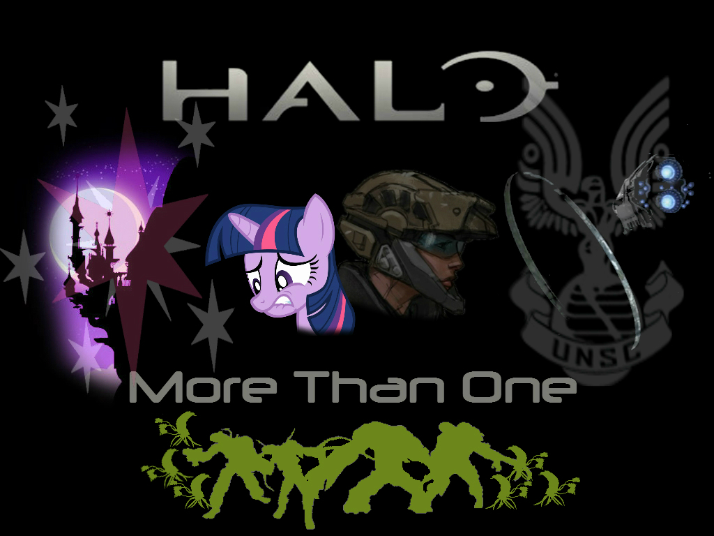 Halo: More Than One (Fimfiction Cover) by SplitMindOC on ...