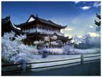 Japanese Garden - Infrared II