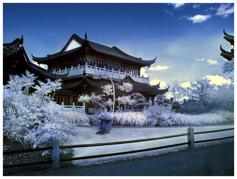 Japanese Garden - Infrared II by nastra
