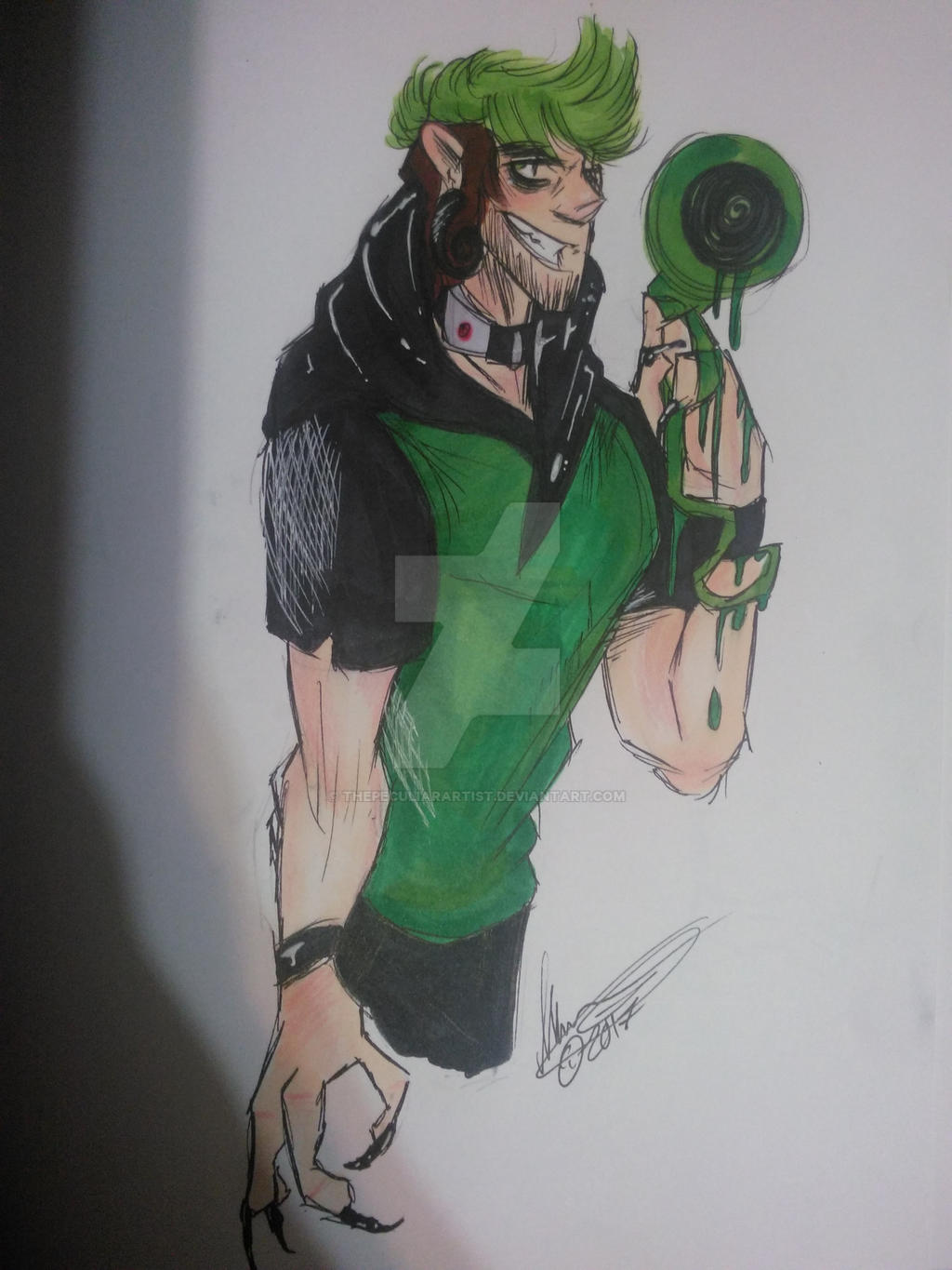 Antisepticeye by ThePeculiarArtist