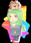 Aya and poji by Naomi-ness