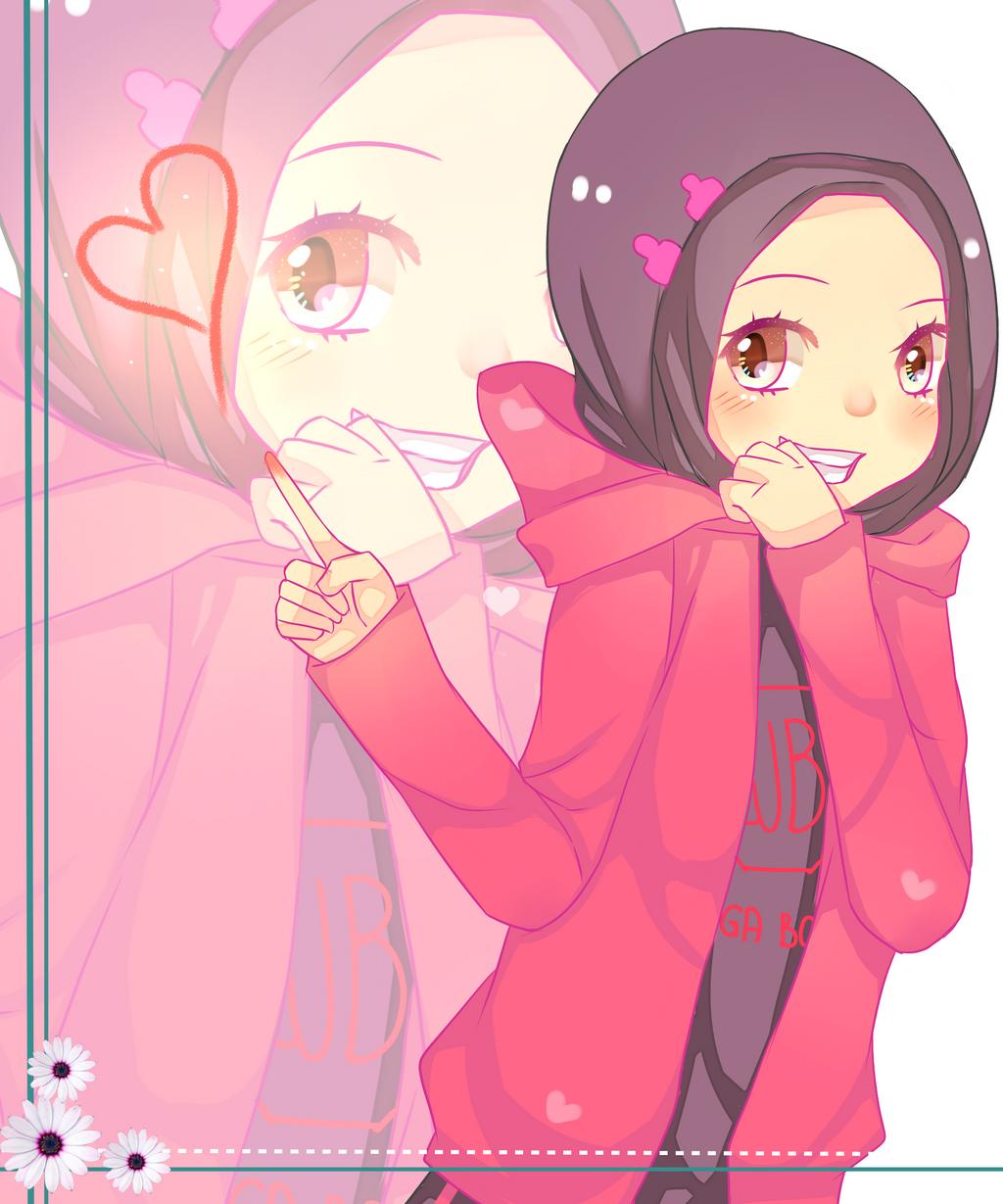 Muslim manga contest AT: OC Tika by Naomi-ness on DeviantArt