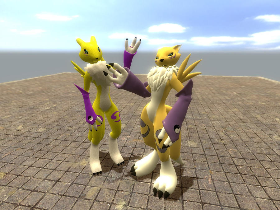 New renamon model :3 by Kenixan2