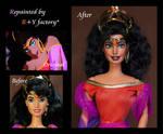 Esmeralda OOAK doll