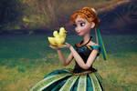 Anna Coronation OOAK doll