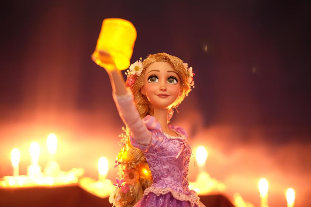 Rapunzel OOAK doll by RYfactory