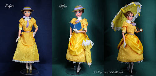 Jane Porter OOAK doll by RYfactory