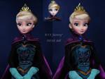Elsa coronation OOAK Doll