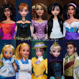 R+Y OOAK dolls 2016*