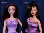 Megara OOAK doll