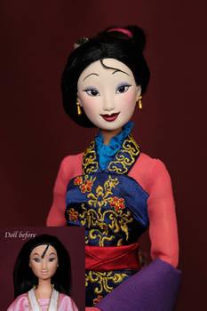 Mulan OOAK doll
