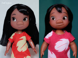Lilo OOAK doll by RYfactory