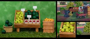 Mrs. Hasegawa's Fruit Stand / Lilo and Stitch
