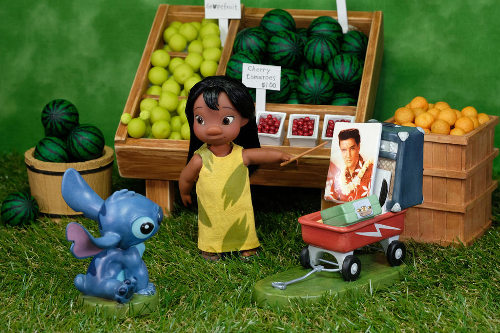 Mrs. Hasegawa's Fruit Stand