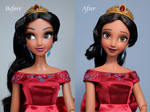 Elena of Avalor OOAK doll Repaint