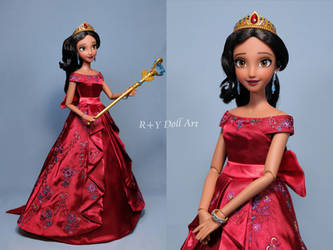 Elena of Avalor OOAK doll Repaint by RYfactory
