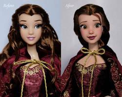 Belle doll repaint