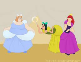Cinderella sisters. by M-a-v-e-r-i-c-k