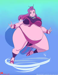 Sumo Princess Spinnerella by M-a-v-e-r-i-c-k