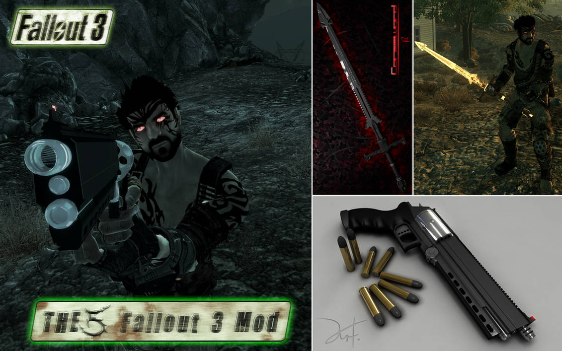 Fallout 3 Mod 01 by The-5 on DeviantArt