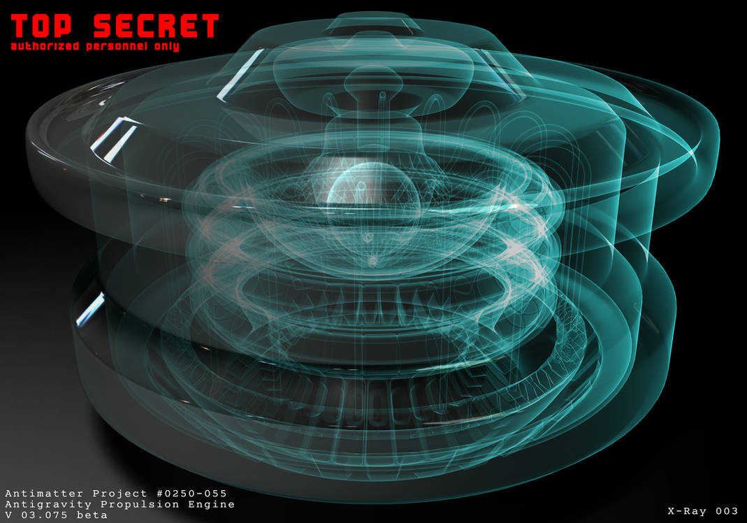Antimatter Engine X-Ray by The-5 on DeviantArt