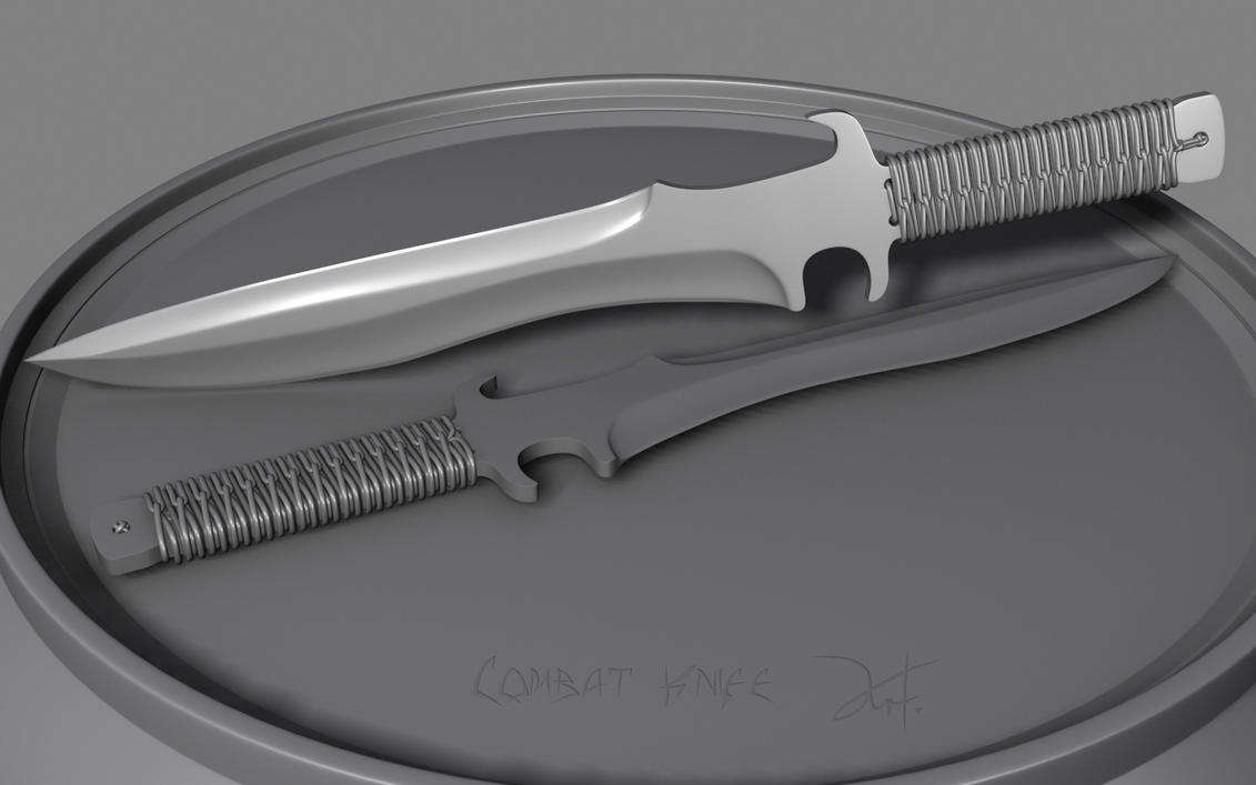 Combat Knife by The-5 on DeviantArt