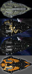 Elite Dangerous - Python Skins 01 by The-5