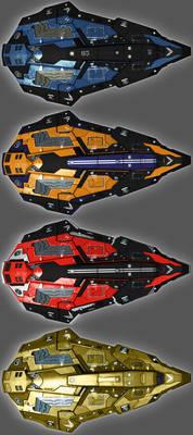 Elite Dangerous - Python Skins 02