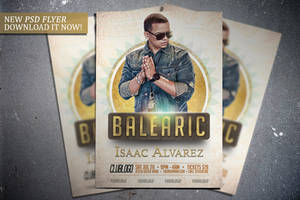 Balearic Flyer Template by FlipNGecko
