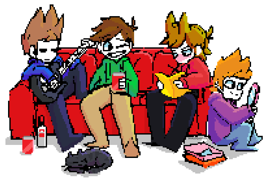 Eddsworld Couch Buds Pagedoll by InvalidQuestion on DeviantArt