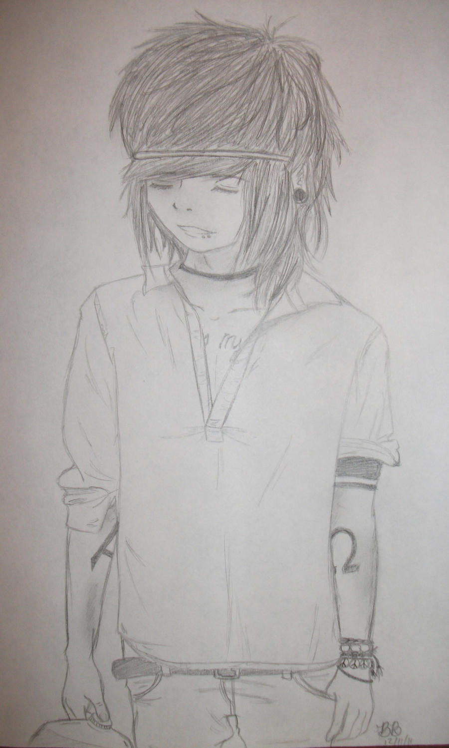 Christofer Drew is Eco-Friendly by nerinaTM on DeviantArt