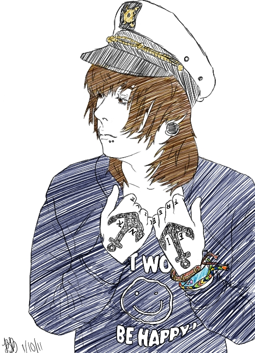 Chris Drew sketch by nerinaTM on DeviantArt