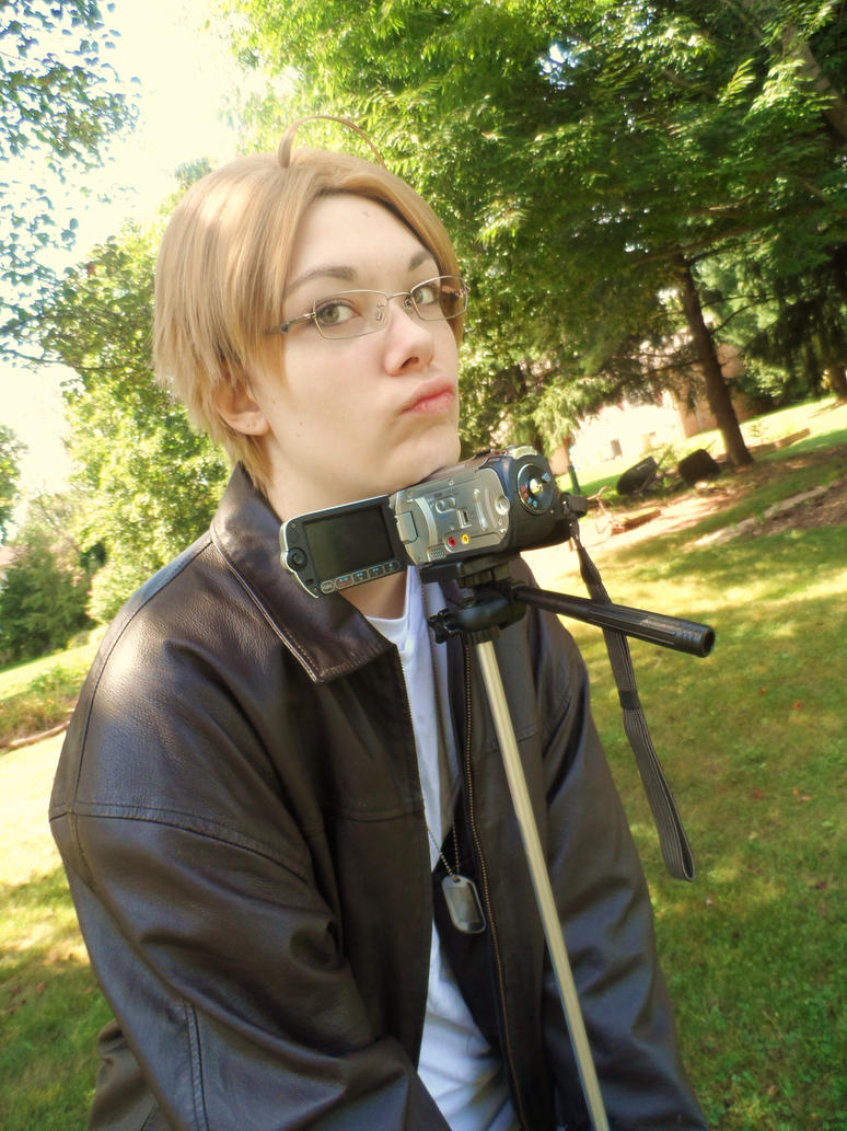 APH - Alfred Duck Face by Kimiko-Otaku