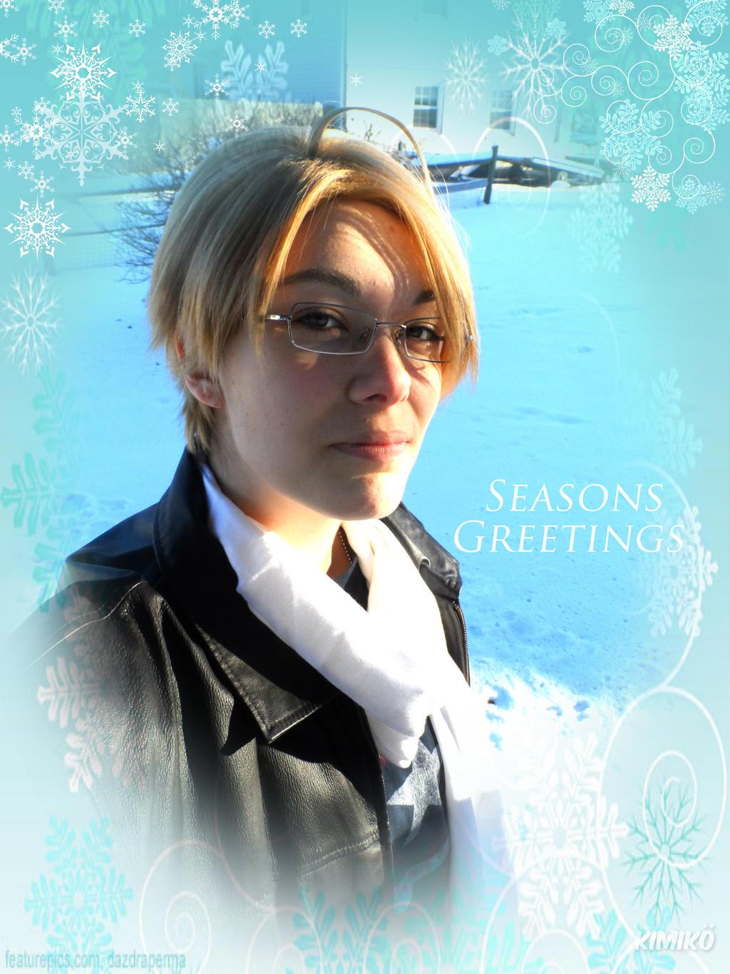 APH - Seasons Greetings From Aflie~ by Kimiko-Otaku