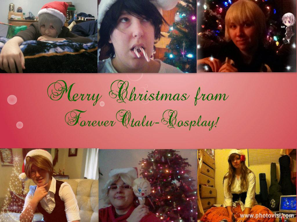 Merry Christmas from ForeverOtaku-Cosplay! by Kimiko-Otaku