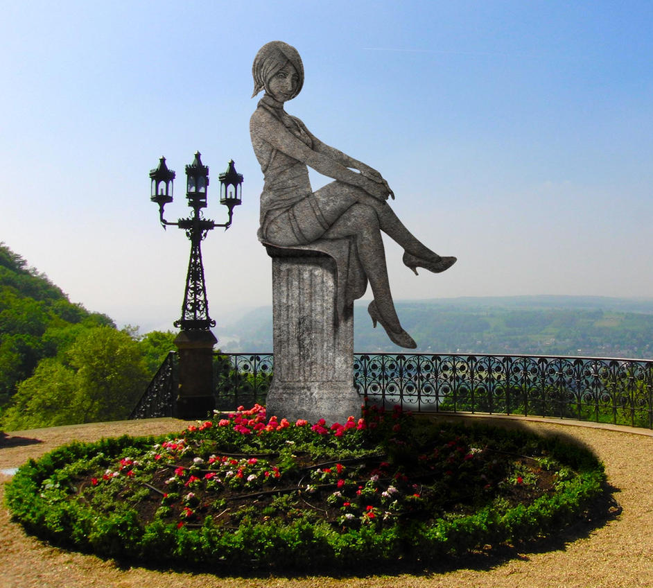 Estatua de jardin 01 by statue maker on deviantart for Estatuas jardin