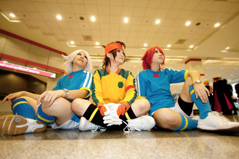 Cosplay - Fubuki, Endou, Kiyama by minamiya