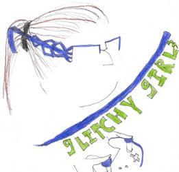 Glitchy Girl Icon 2020