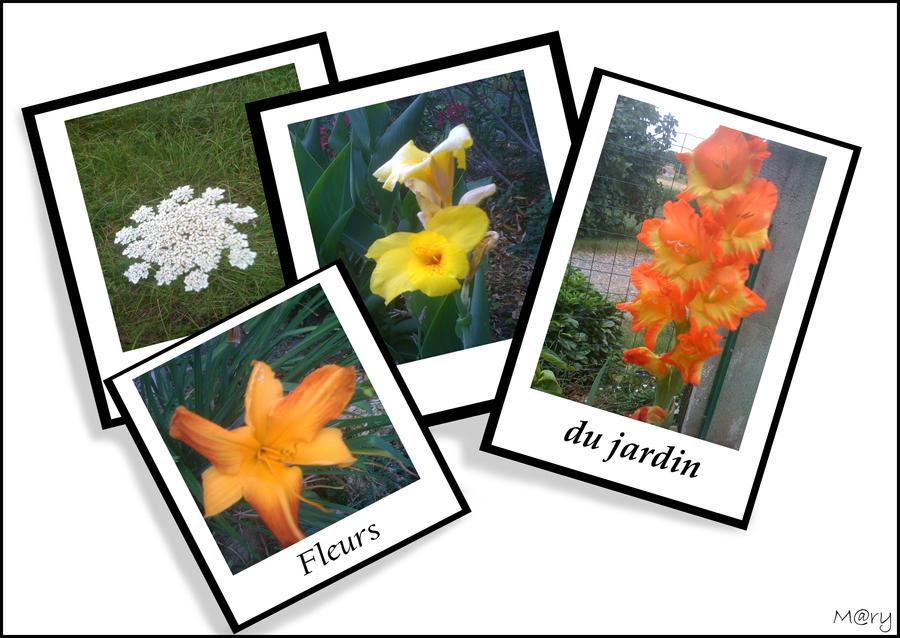 Fleurs du jardin by pucca mary01 on deviantart for Art du jardin zbinden sa